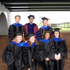 2014 Graduates: J. Corker, T.  Fedor, N. Hsieh (not pictured), A. Jadhav, V. Miranda, A. Stokes, and E. Vala-Haynes