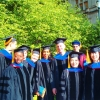 2013 Graduates: A. Appiah-Yeboah, S. Chae, J. Y. Ho, E. Jennings Sharygin, A. Saabneh, M. Sironi, R. Tesfai, and M. Ruther ('12)